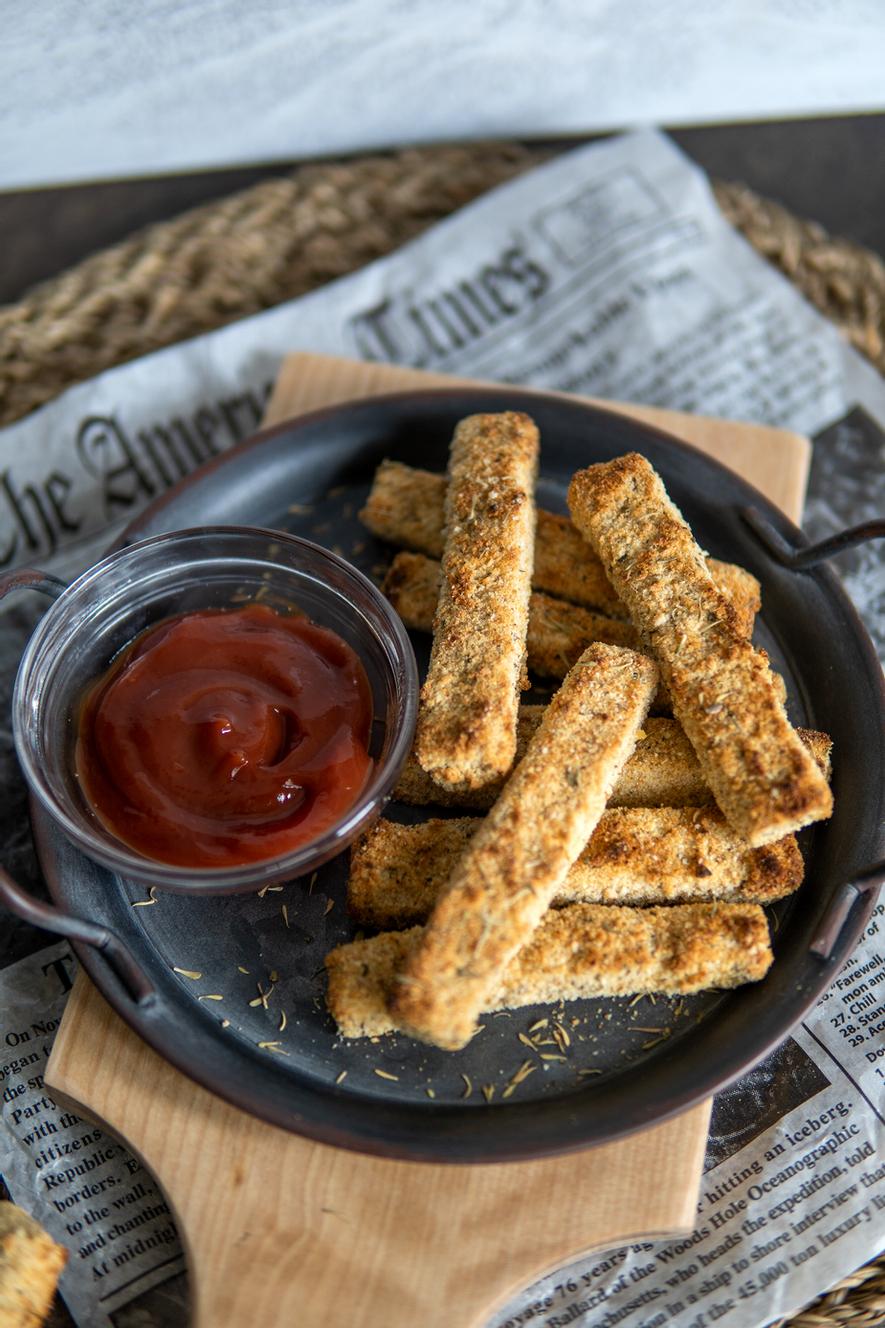 Crispy Vegan Tofu Tenders