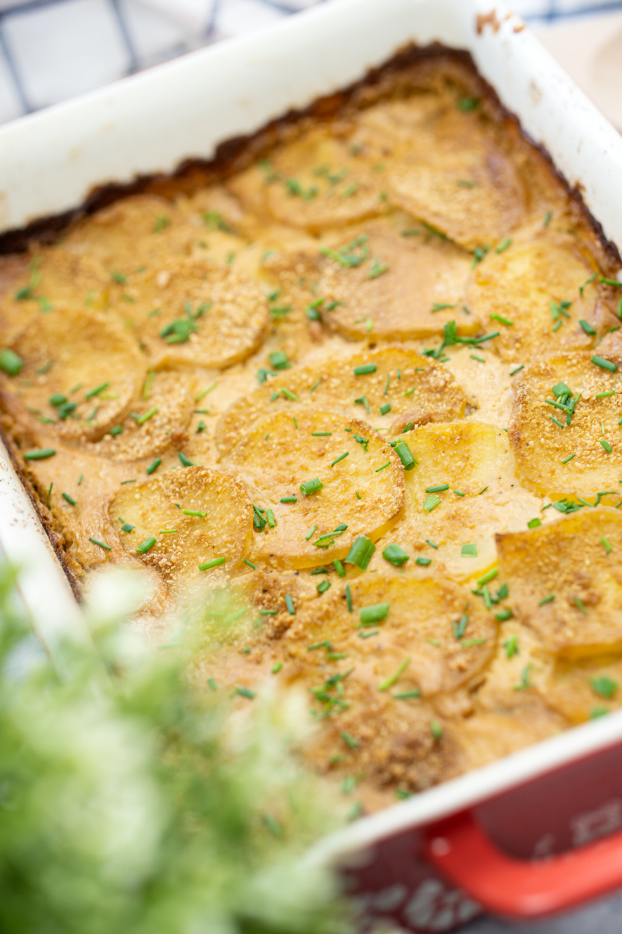 Vegan Creamy Scalloped Potatoes
