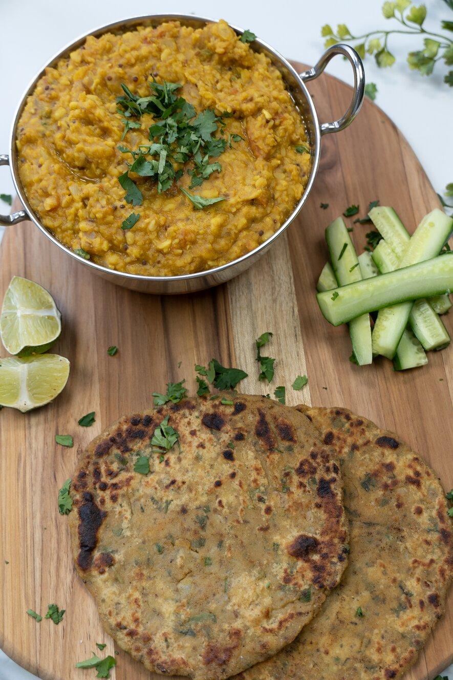 Instant Pot Dal Fry (Lentil Curry)